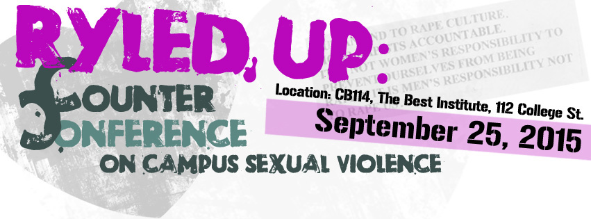 Rryled Up counter conference, silence is violence, FB image